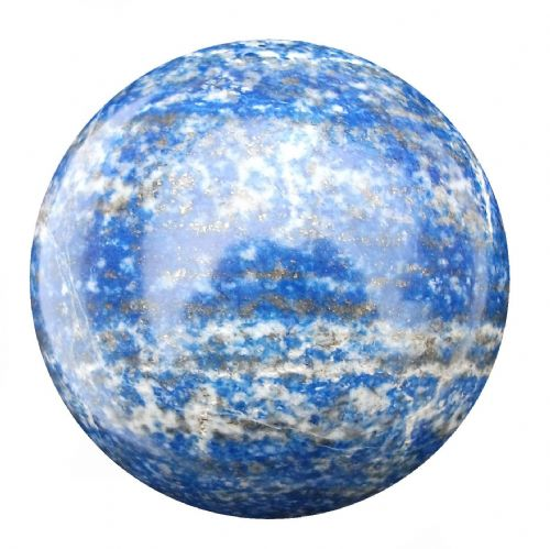 Lapis Lazuli Fortune Telling Crystal Ball Divination Sphere 55mm 250g (LB24)